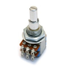 100k Dual Ganged Stereo Volume Control Wiring Diagram L14 30 Plug Guitar Parts Factory Fender Potentiometers