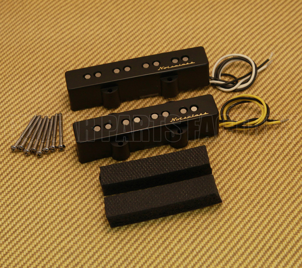 hight resolution of 099 2102 000 vintage noiseless jazz bass pickups
