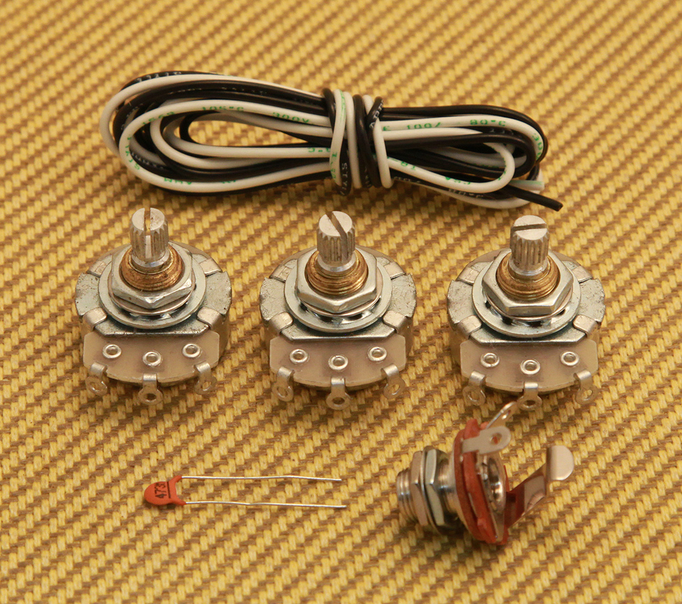 hight resolution of wkj eco economy wiring kit for jazz bass