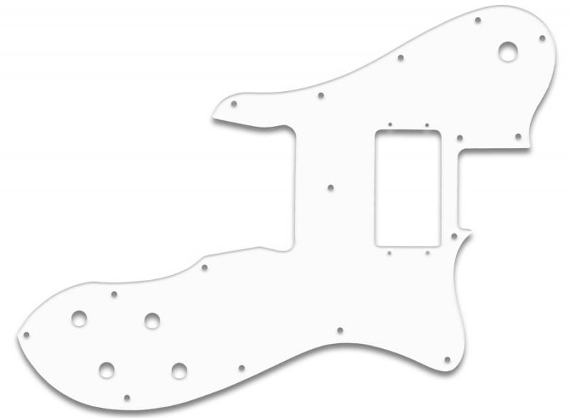 FENDER TELECASTER CUSTOM PICKGUARD WHITE BLACK WHITE