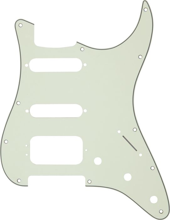 fender stratocaster pickup wiring diagram 2 pole 3 wire grounding replacement pickguards guitar repair bench fat strat pickguard