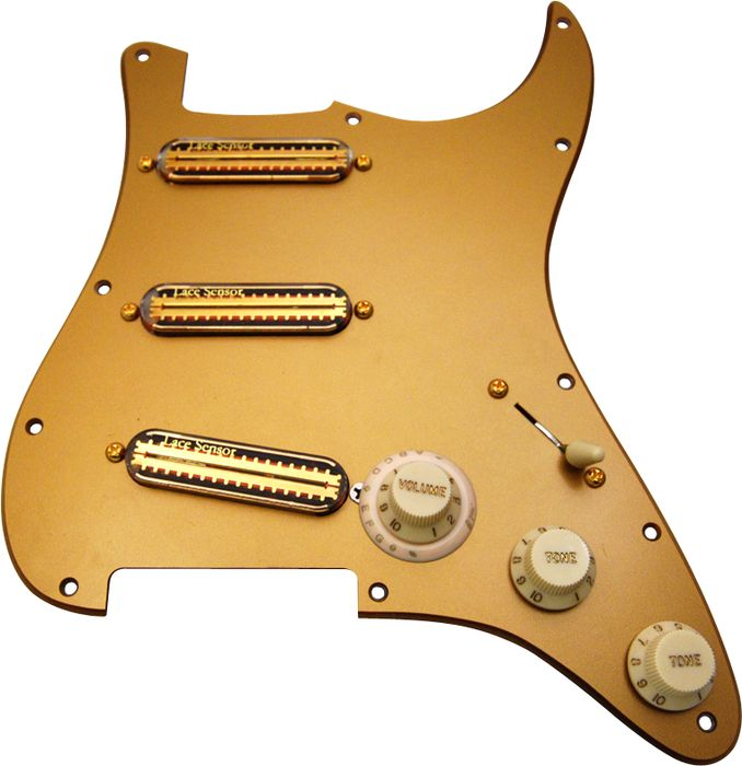 fender stratocaster pickup wiring diagram honeywell t6360 room thermostat replacement pickguards guitar repair bench lace 30th anniversary gold sensors loaded pickguard