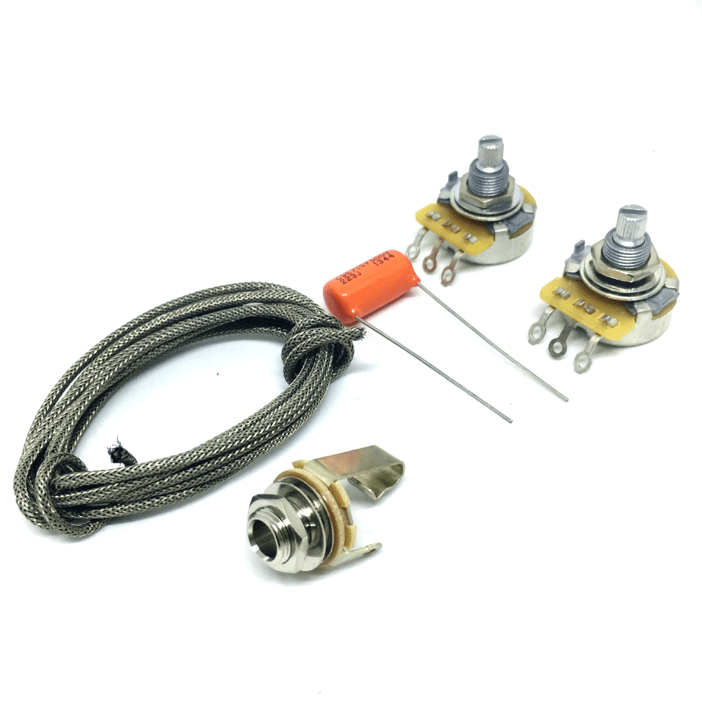 medium resolution of guitarslinger products les paul sg jnr wiring kit cts 500k pots les paul input jack wiring