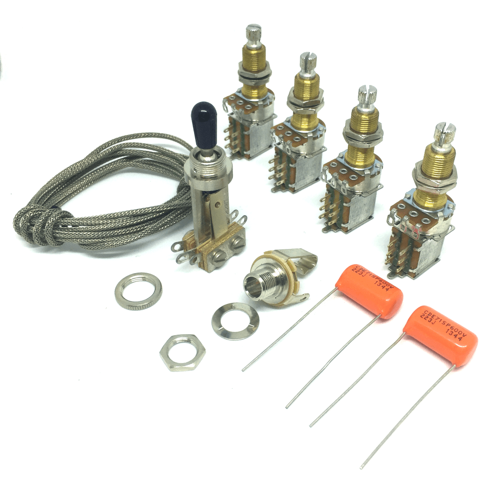 medium resolution of premium jimmy page wiring kit for les paul