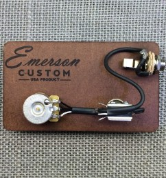 emerson custom prewired kit cabronita tele 500k [ 1000 x 1000 Pixel ]