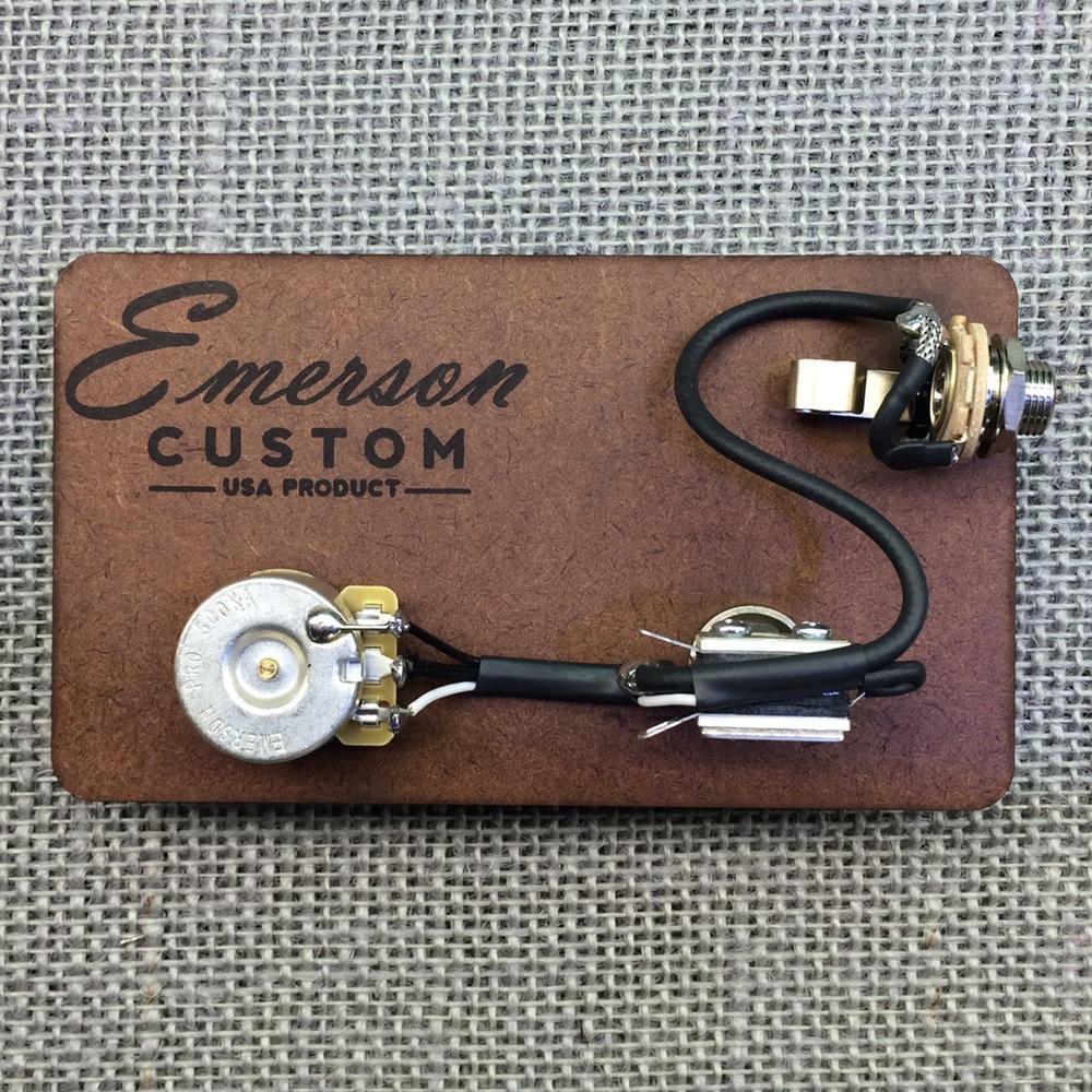 medium resolution of emerson custom prewired kit cabronita tele 500k