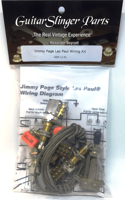 small resolution of product images premium jimmy page wiring kit for les paul