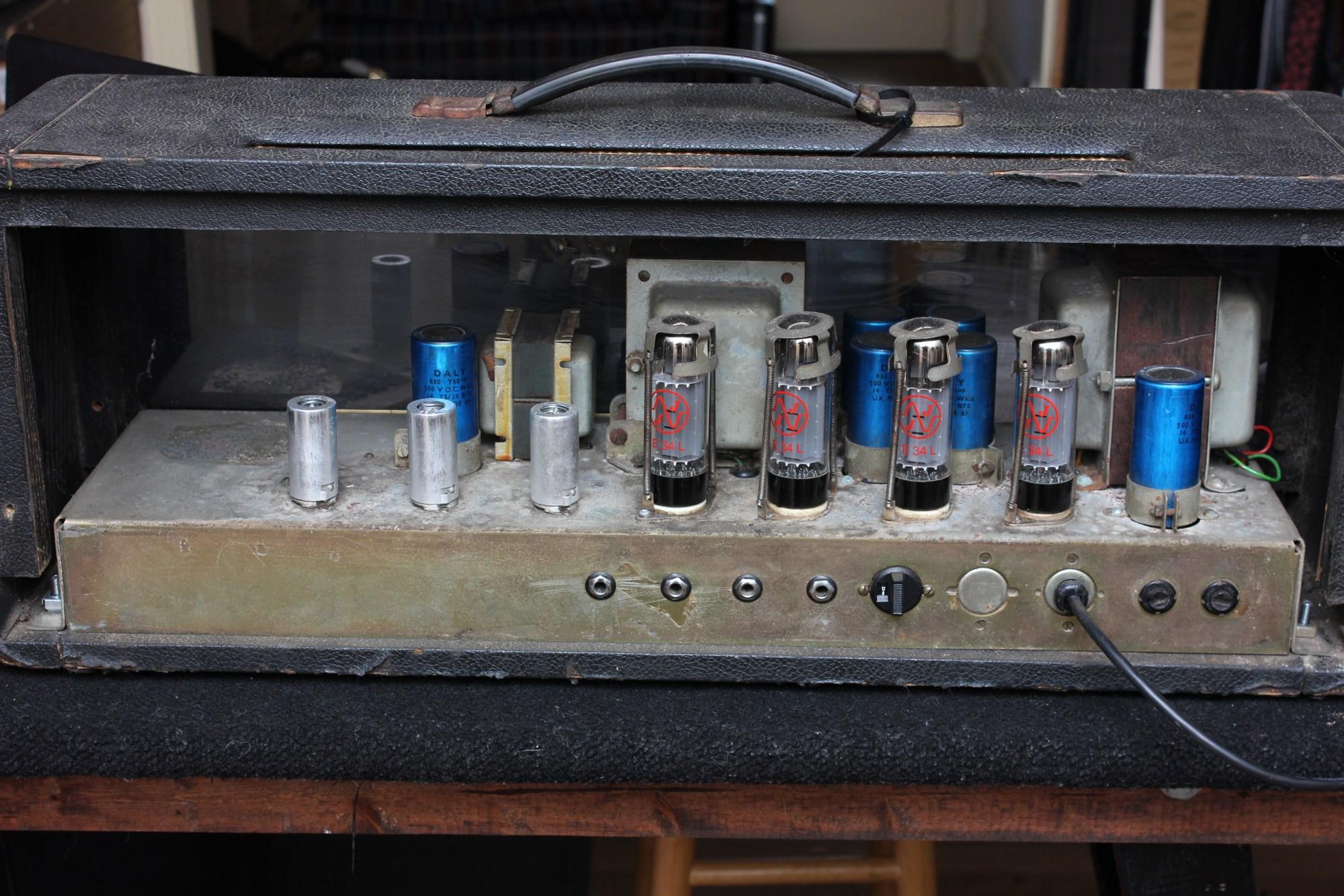 hight resolution of marshall plexi 100 watt amp head vintage