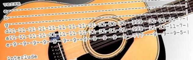 Acoustic Tabs Guitartabsexplorer Com