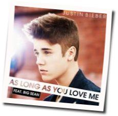 JUSTIN BIEBER: As Long As You Love Me (Ver. 3) Guitar chords   Guitar Chords Explorer