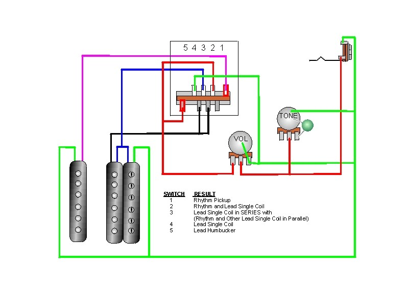 Single Humbucker Volume And Tone Wiring Diagram from i0.wp.com