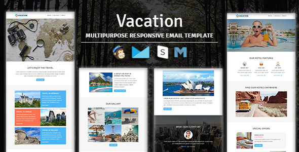 NOVA - Multipurpose Responsive Email Template With Stampready Builder & Mailchimp Access - 4