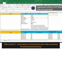 liquid ui for excel sap sd multiple sales orders [ 1200 x 1231 Pixel ]