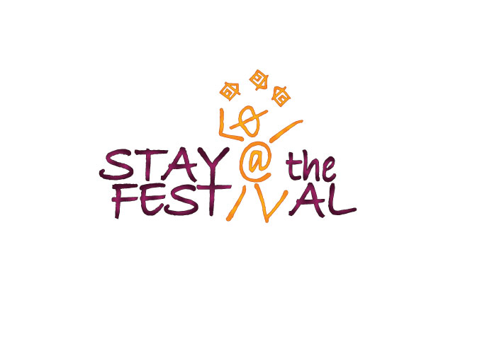 Logo design for Stay at the Festival