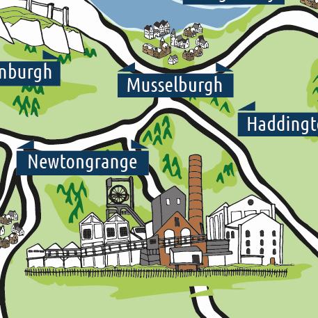 Central Belt Leaflet Distribution - Central Scotland Map detail