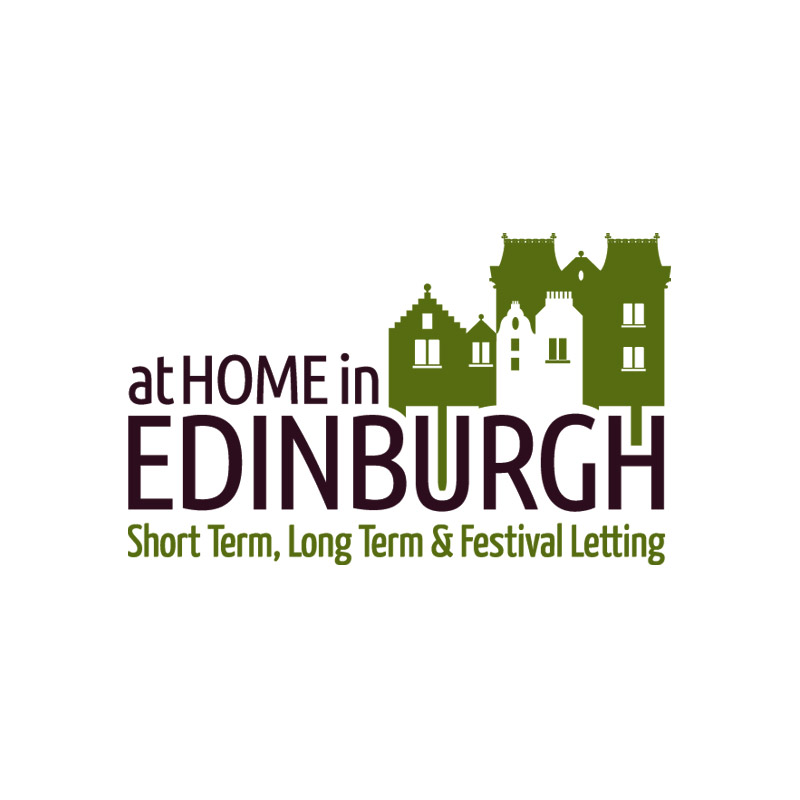 Logo design for At Home in Edinburgh