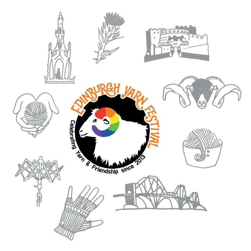 Edinburgh Yarn Festival: Icon Set