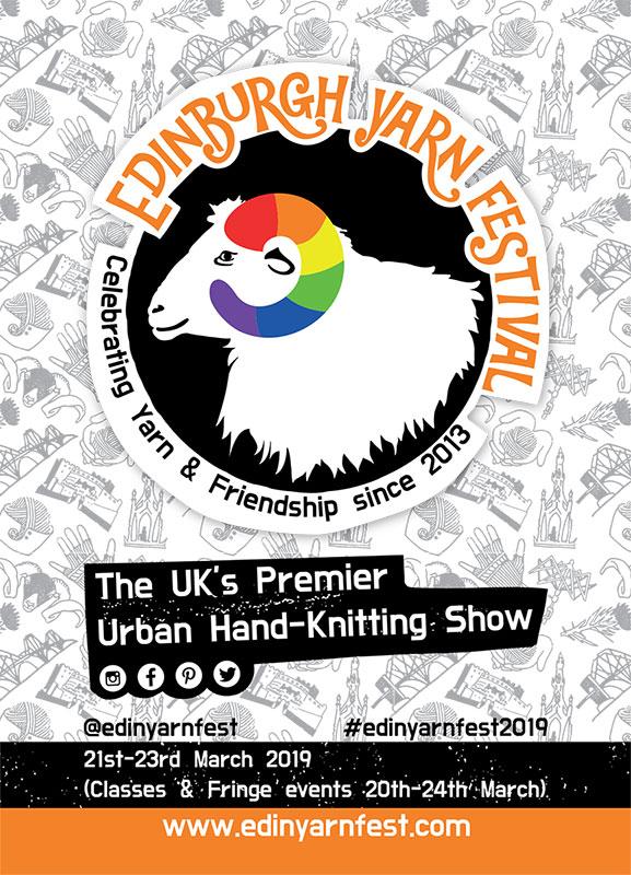 Edinburgh Yarn Festiva: Flyer Design