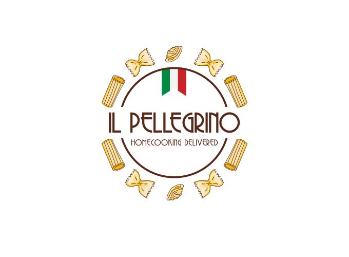 Logo design for Il Pellegrino