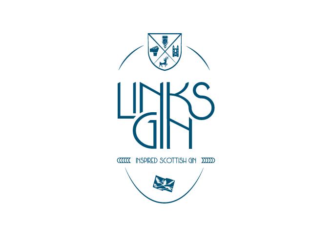 Logo design for Links Gin