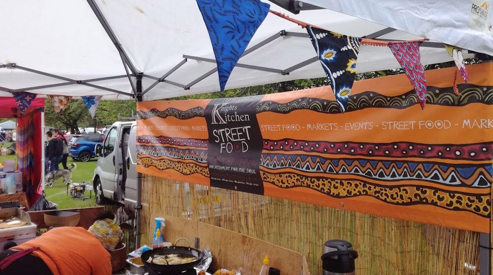 Knigths Kitchen Stall Banner