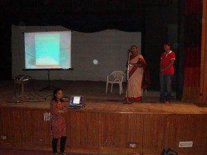 વિવિધ શાળા અને કૉલેજમાં ગુજરાતીલેક્સિકોનની માહિતીનું સફળતાપૂર્વક નિદર્શન- એક અહેવાલ