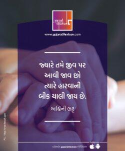 Gujarati Quote – 10 December