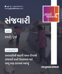 Gujarati Lexicon Word Of The Day – 13 January 2020
