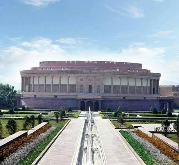 Places to visit in Kutch, Bhujodi, Replica of Indian Parliament in Kutch