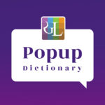 Pop up dictionary