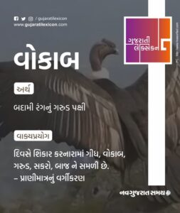 Gujarati Lexicon Word Of The Day – 20 February 2020