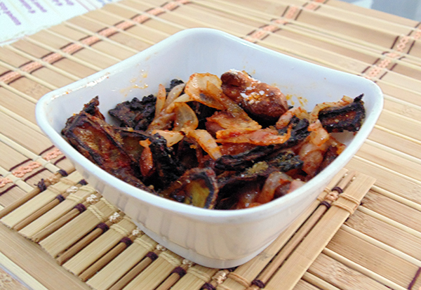Kaju Karela (Cashew Nuts – Bitter Gourd Sabji)