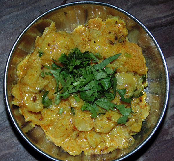 Rotli nu Shaak (LeftOver Recipe)