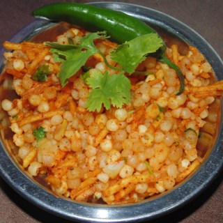 Sabudana Khichdi without Oil