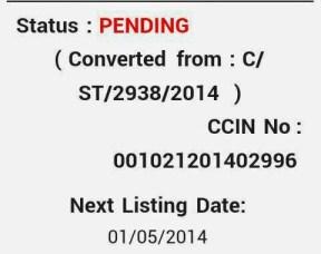 HTAT Bharti 2014 Case Next Date 01-05-2014
