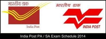 india post pa sa exam date 2014