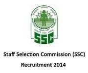 SSC Southern Region Recruitment 2014