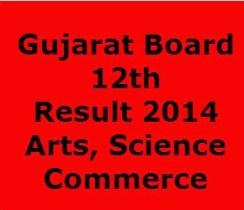 GSEB HSC 12th Result 2014
