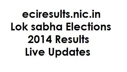 Lok sabha Election 2014 Results Live on eciresults.nic.in