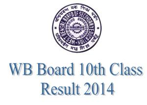 WB Madhyamik Results 2014