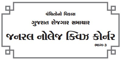Gujarat General Knowledge Quiz Corner 2014