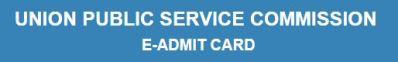 UPSC IFS Admit Card 2014