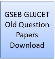 GSEB GUJCET Old Question Papers Download