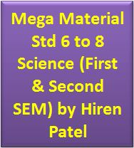 Mega Material Std 6 to 8 Science