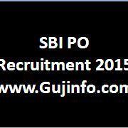 sbi po recruitment 2015