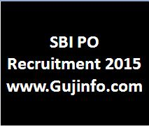 sbi po recruitment 2015