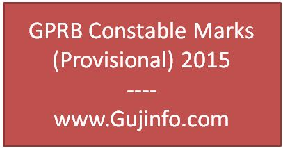 GPRB Constable Marks 2015
