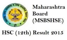 Maharashtra HSC Result 2015