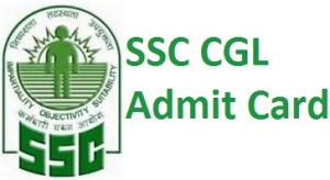 SSC CGL Admit Card 2015 for Tier 1 exam