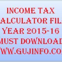 Income Tax Calculator 2015-16